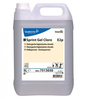 TASKI SPRINT GEL CLORO NEW 5LT DIVERSEY