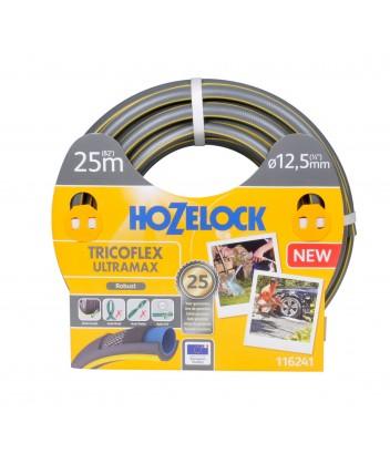 116241 TRICOFLEX ULTRAMAX 1/2'' 25m ΛΑΣΤΙΧΟ ΓΚΡΙ HOZELOCK