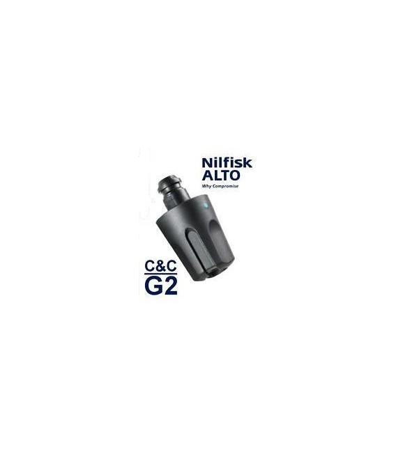 126481122 NOZZLE CLICK&CLEAN TORNADO G2 TURQUOISE BLUE NILFISK