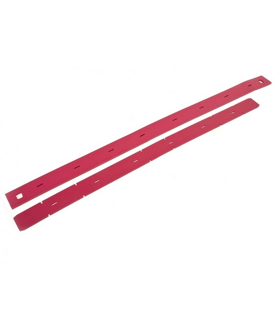 9100002543 BLADES SQUEEGE 700MM 28 RED GUM RUBBER KIT NILFISK