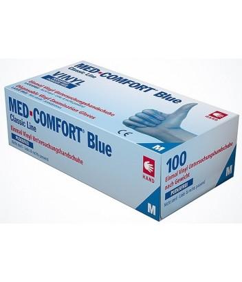 01180 ΓΑΝΤΙΑ VINYL MED COMFORT BLUE 100 ΤΜΧ AMPri