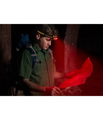 CT4120 ΦΑΚΟΣ ΚΕΦΑΛΗΣ 4 ΛΕΙΤΟΥΡΓΙΩΝ FOCUS COB LED 120 & 250 Lumens CAT LIGHTS