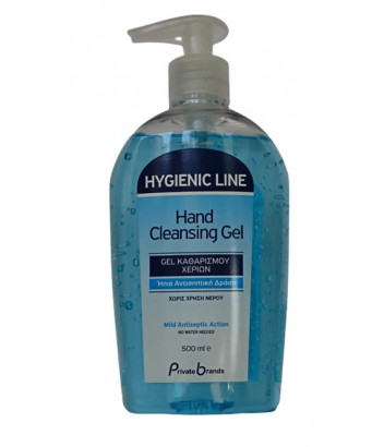 HYGIENIC LINE HAND ΑΛΚΟΟΛΟΥΧΟ CLEANSING GEL 70% 500ml
